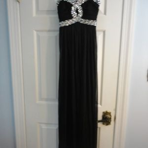 Black dress size 3 prom